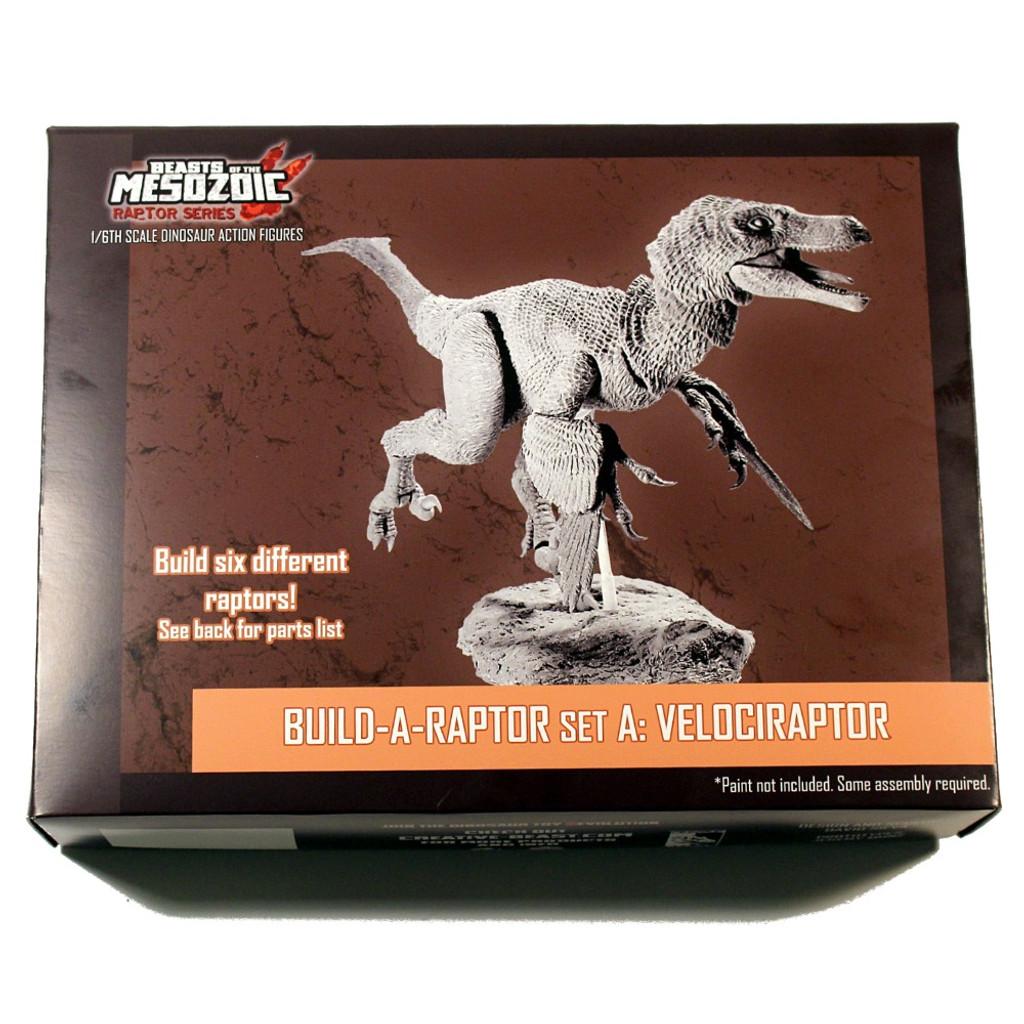 Build-a-Raptor Set A: Velociraptor