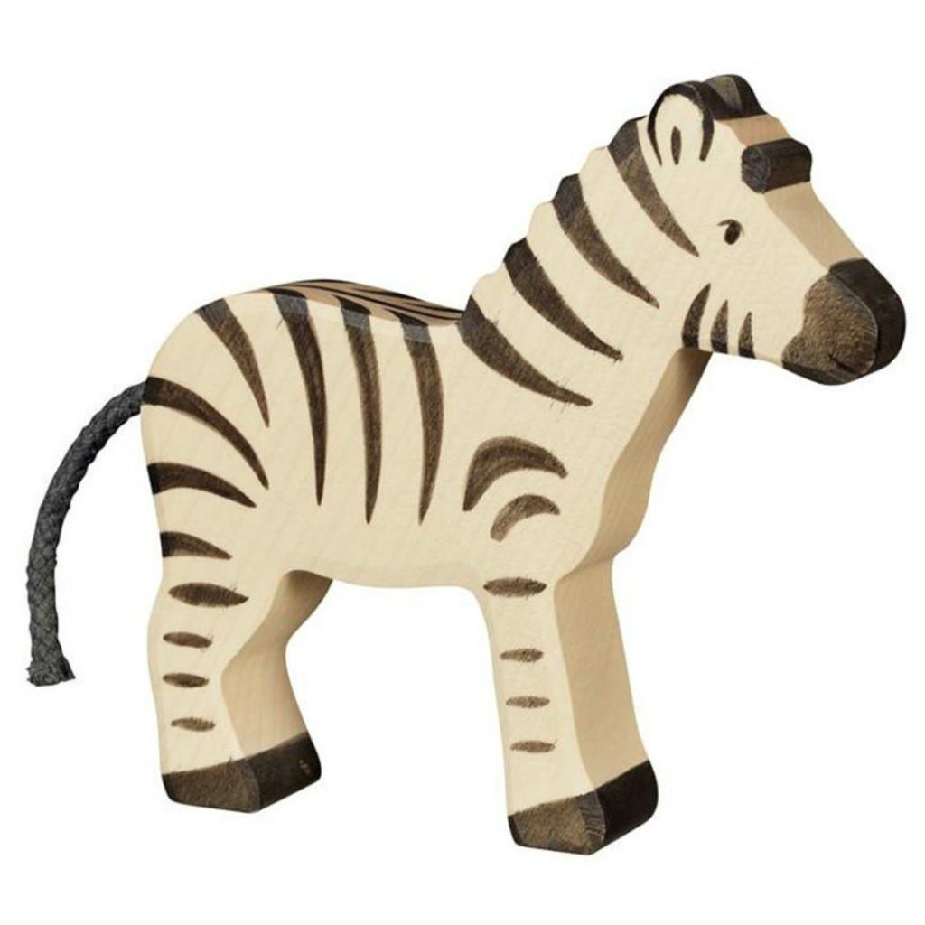Zebra Black Holztiger