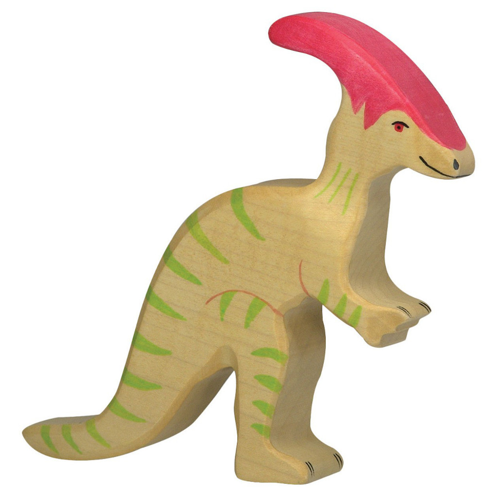 Parasaurolophus Holztiger