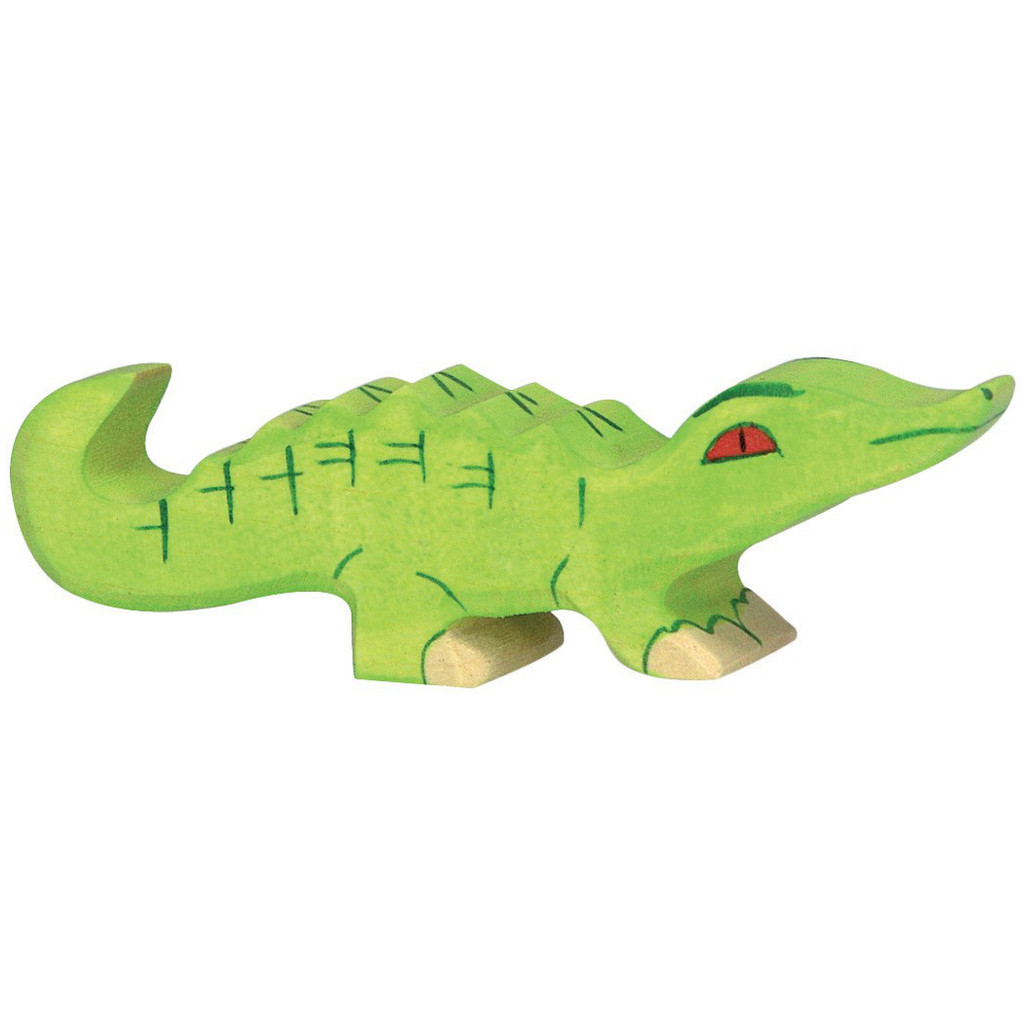Crocodile Small Holztiger