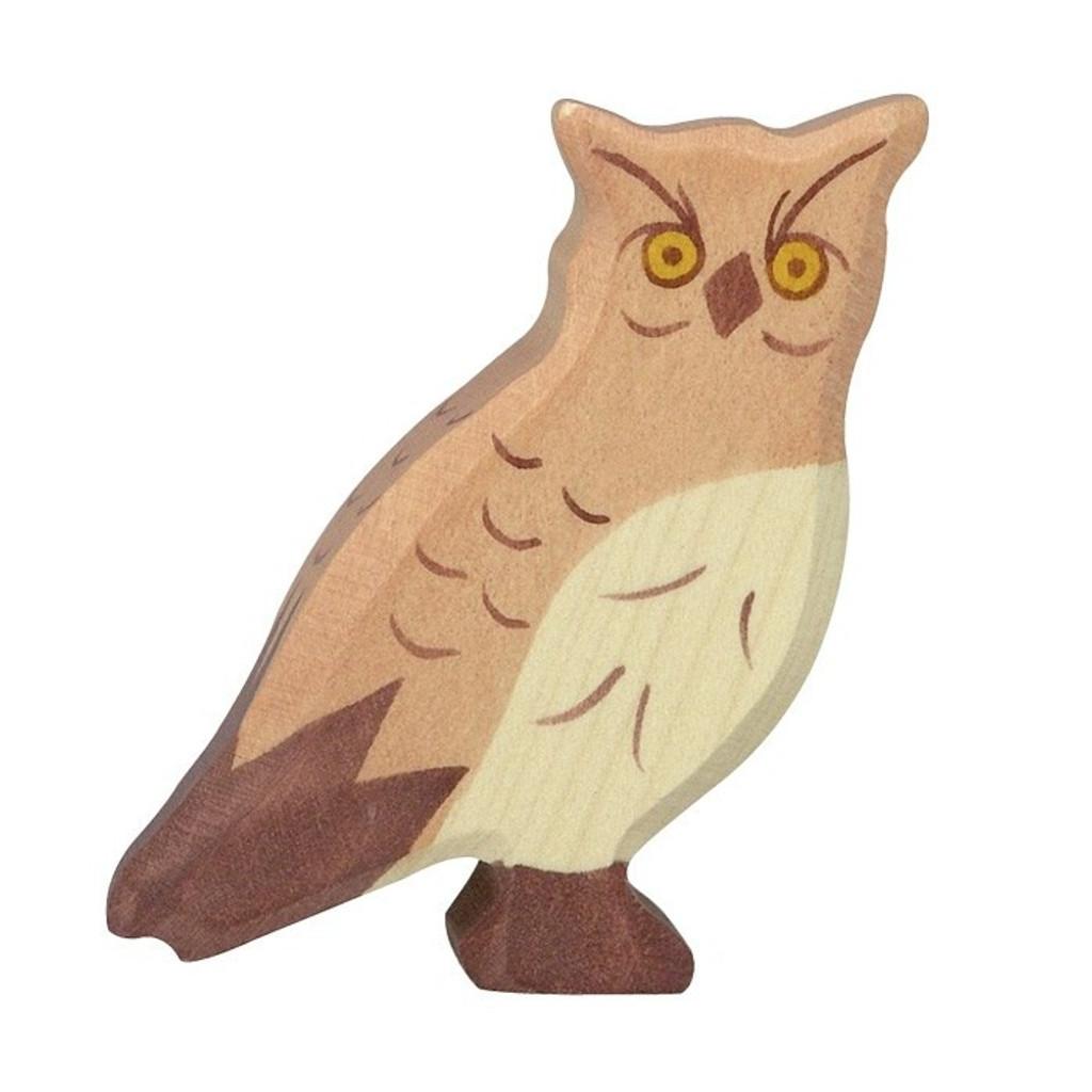 Eagle Owl Holztiger