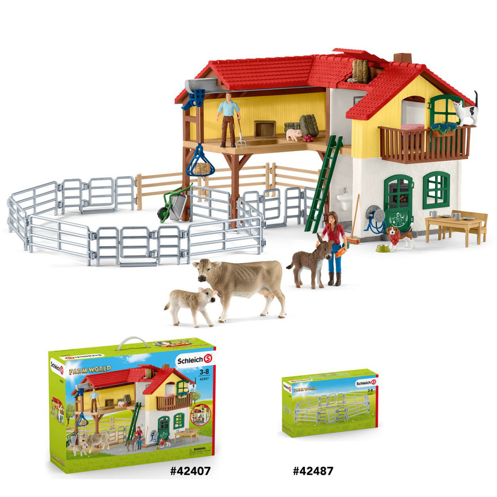 Schleich Fences