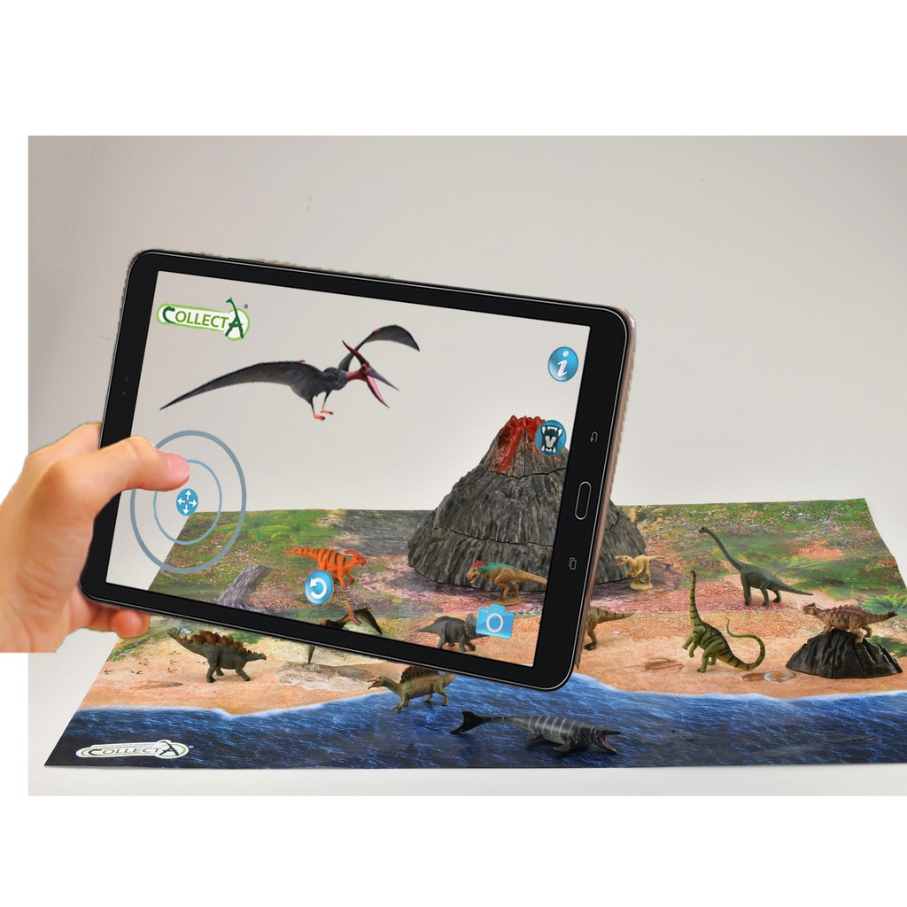 AR Mini Dinosaurs Playset
