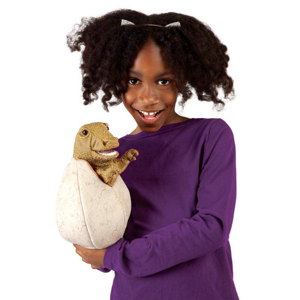 Hatching Dinosaur Egg Puppet