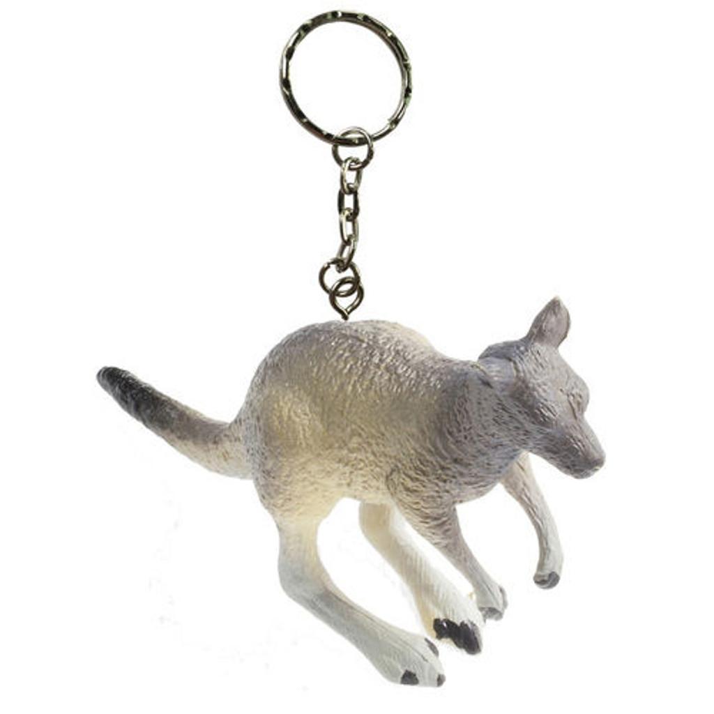 Science and Nature Kangaroo Keychain