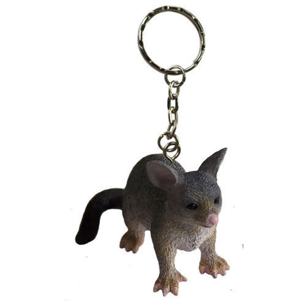 Science and Nature Possum Keychain