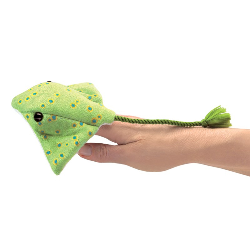 Ray Finger Puppet on hand