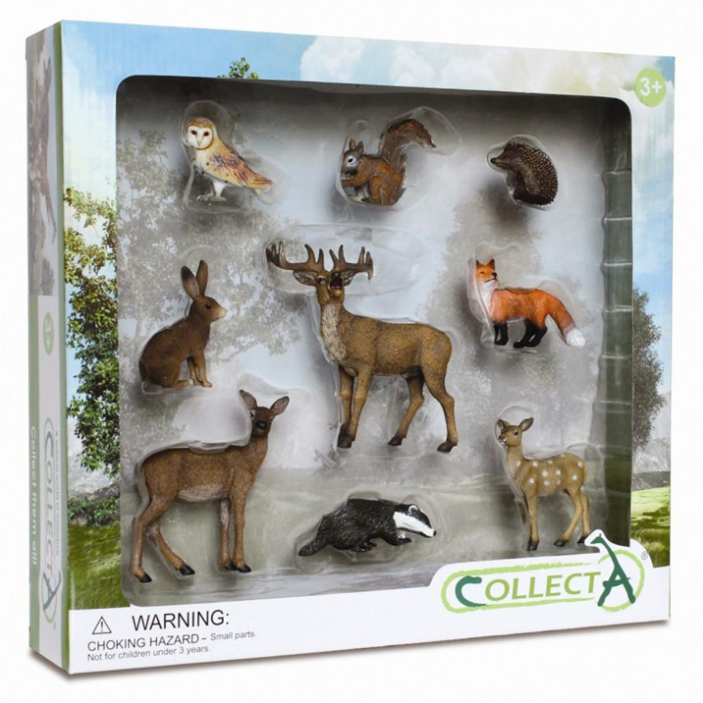 CollectA Woodland Gift Set 9pc