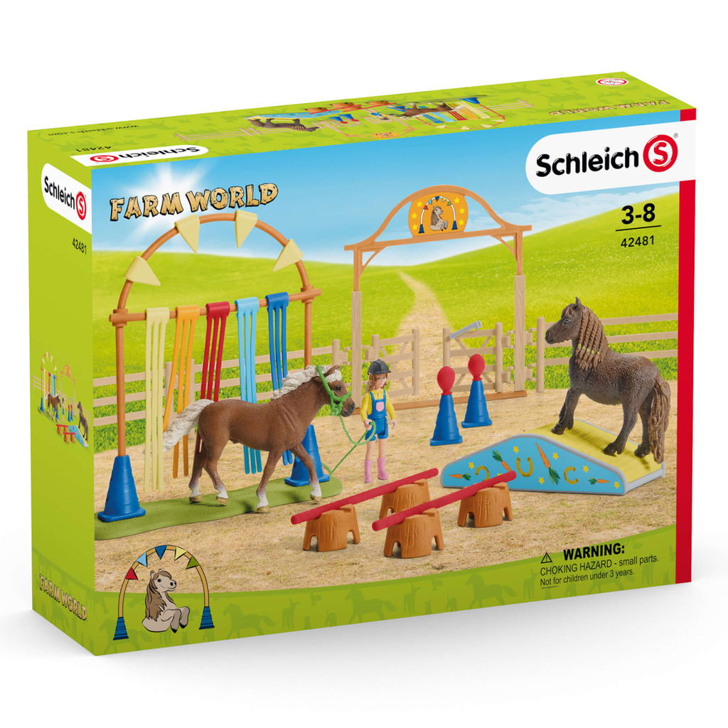 Schleich Pony Agility Training packaging