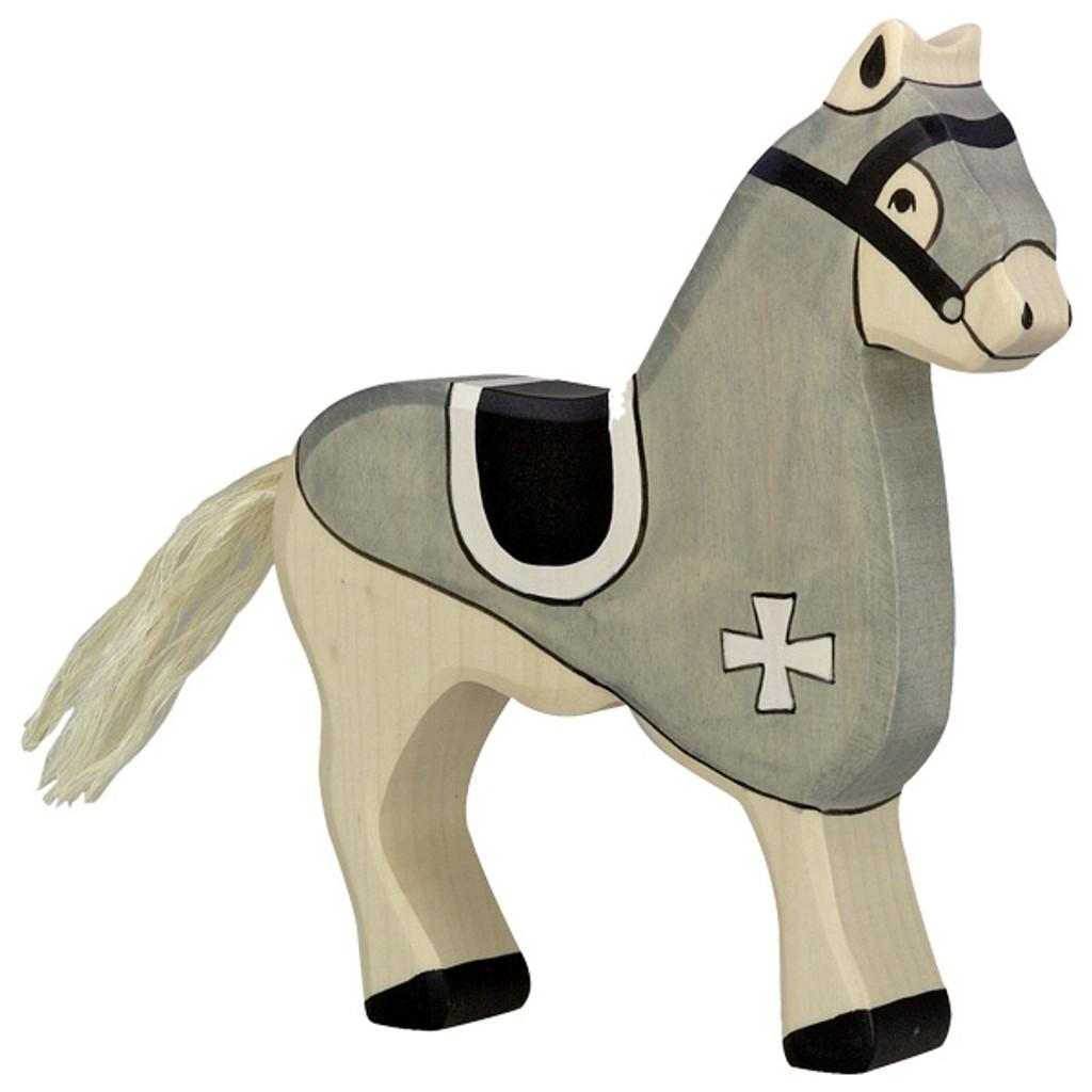 Holztiger Tournament horse black