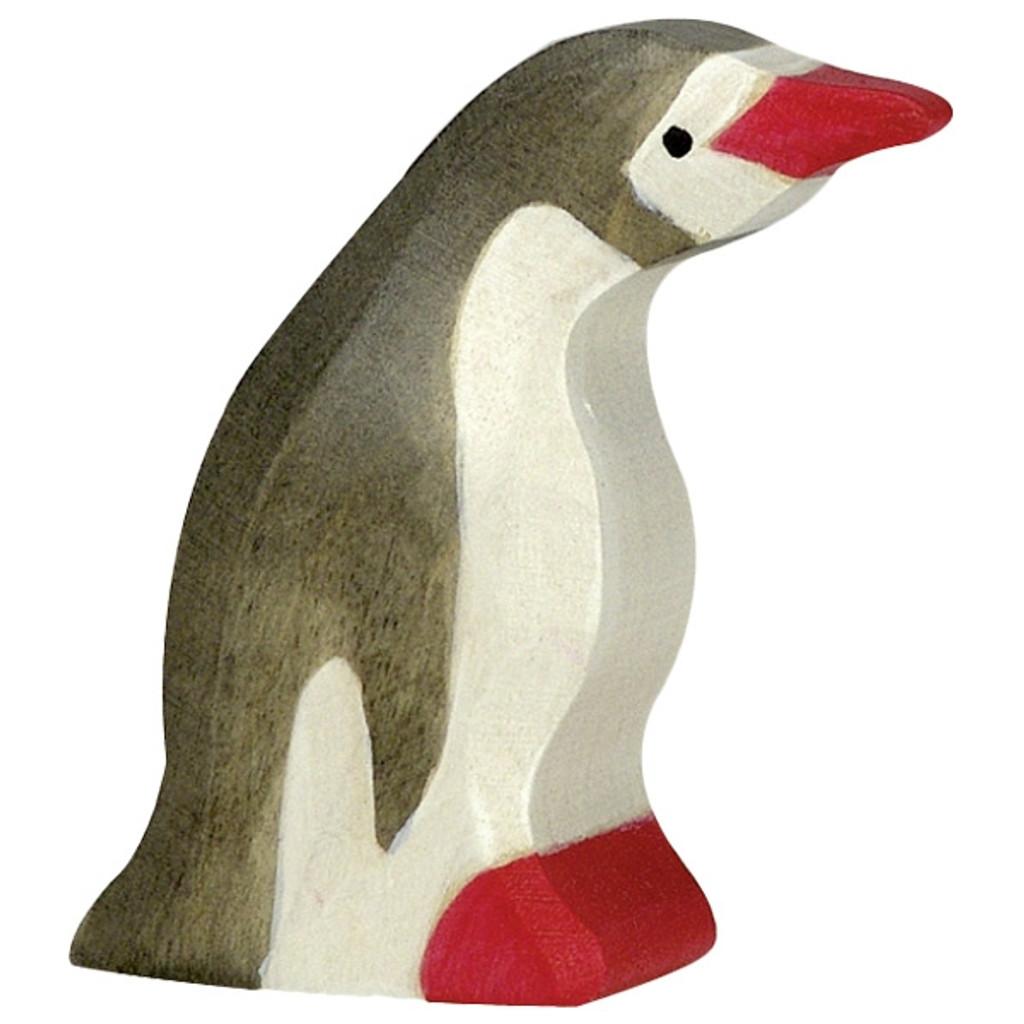 Holztiger Penguin Head Forward