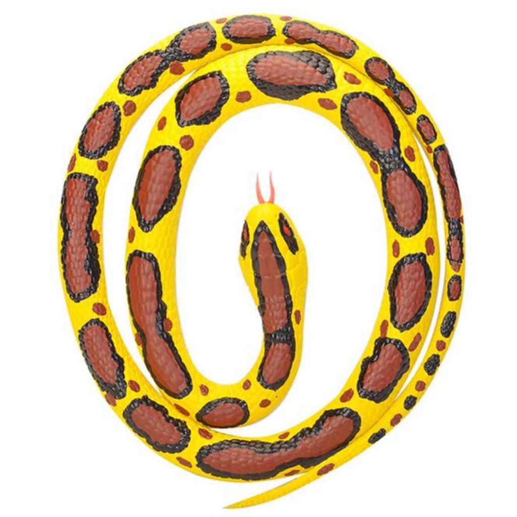 """Wild Republic Bermese Python Rubber Snake 46"""""""