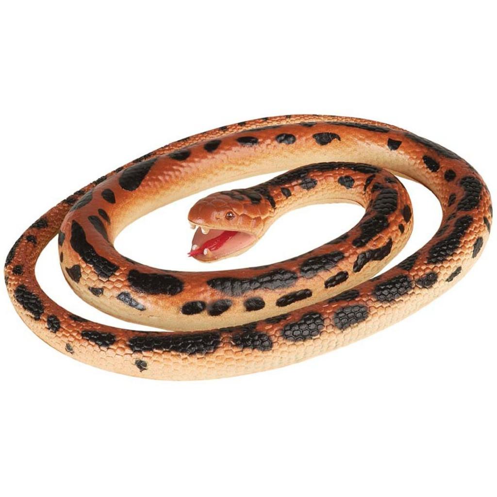 "Wild Republic Amethyst Python Rubber Snake 46"""
