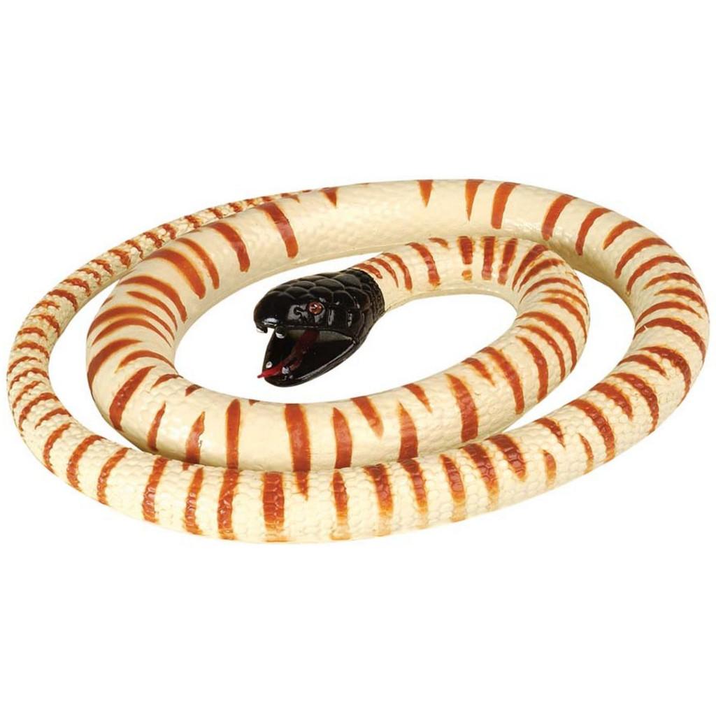 "Wild Republic Black Head Python Rubber Snake 46"""