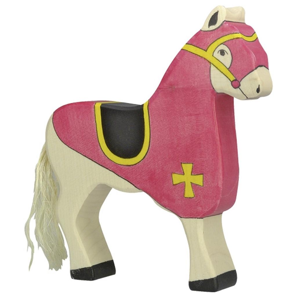 Holztiger Tournament Horse Red