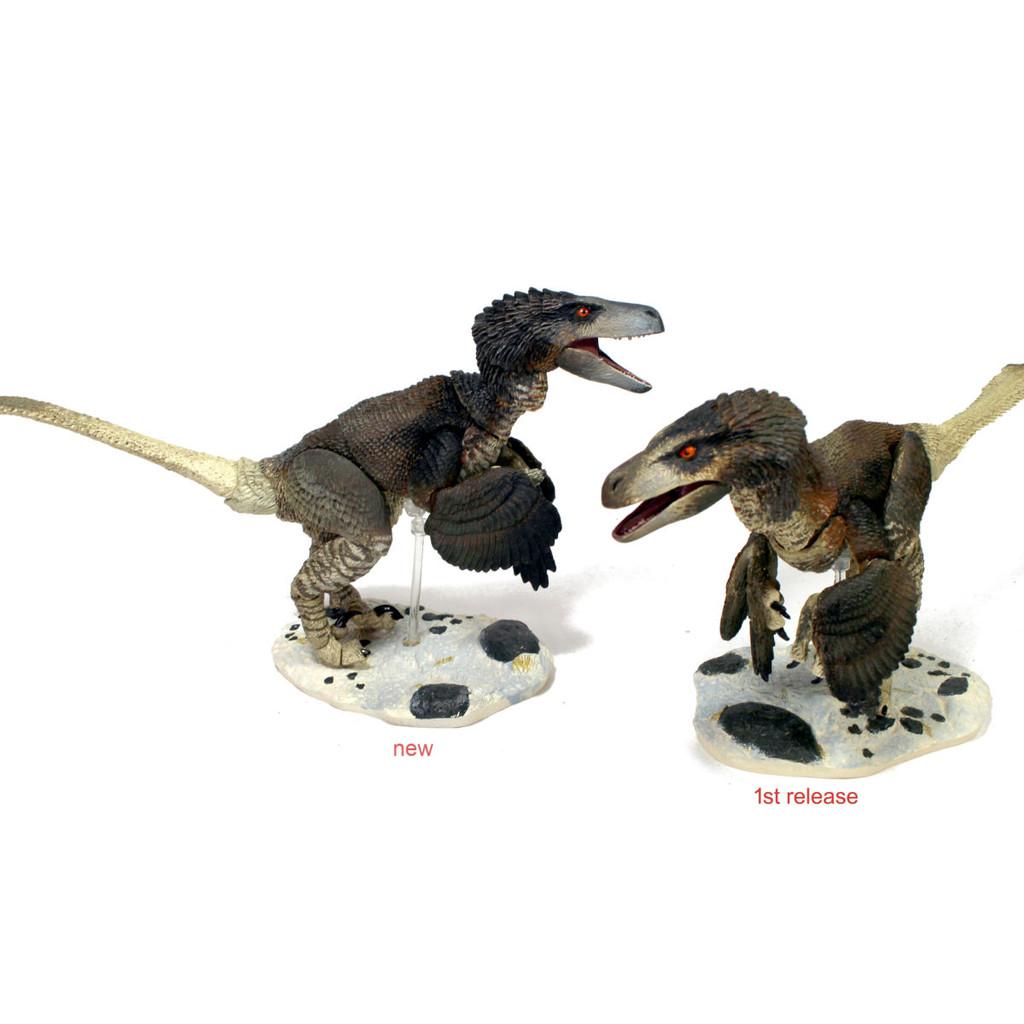Creative Beasts Dromaeosaurus Albertensis old and new versions