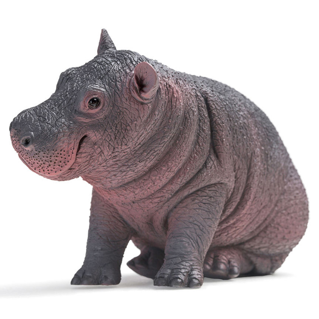 PNSO Popo the Hippopotamus calf front view