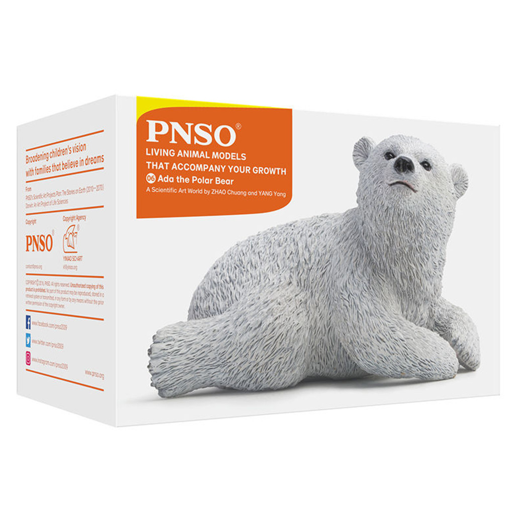 PNSO Ada the Polar Bear packaging