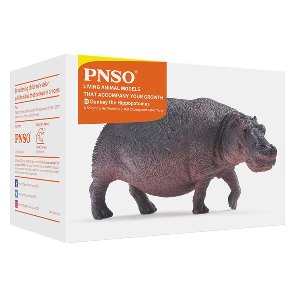 PNSO Dunkey the Hippopotamus packaging