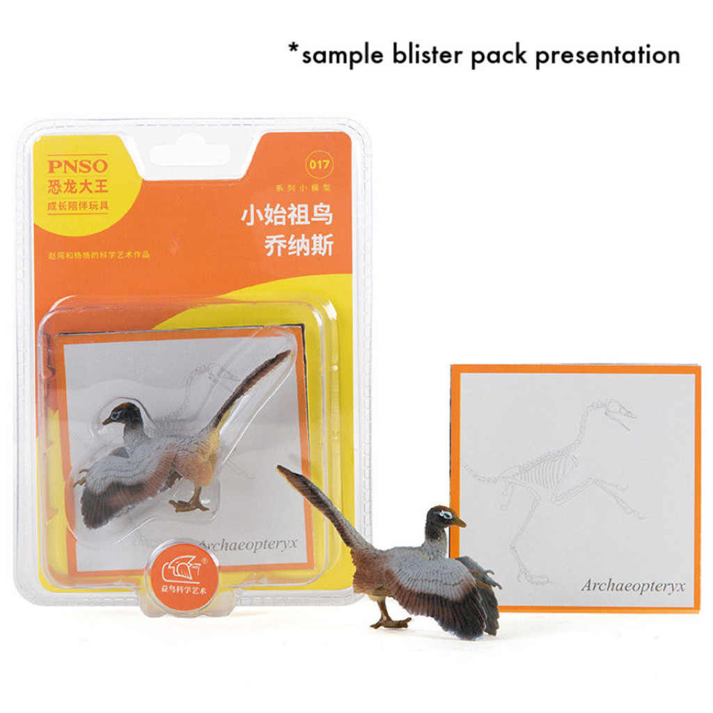 PNSO Mini Dinosaurs blister pack sample