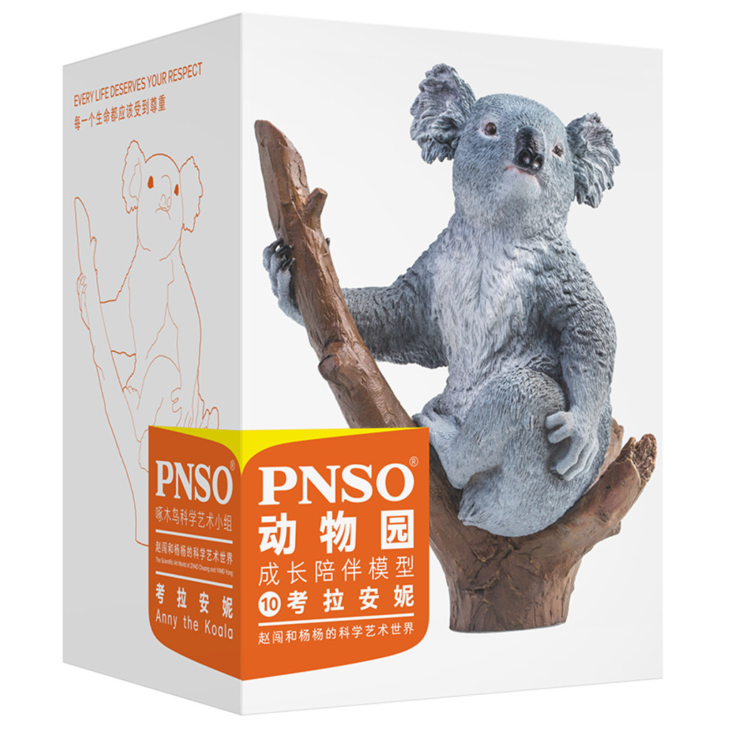 PNSO Anny the Koala model box front view