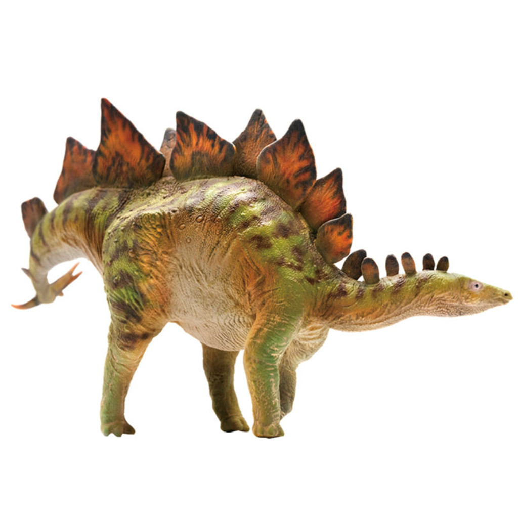 PNSO Bieber the Stegosaurus side view