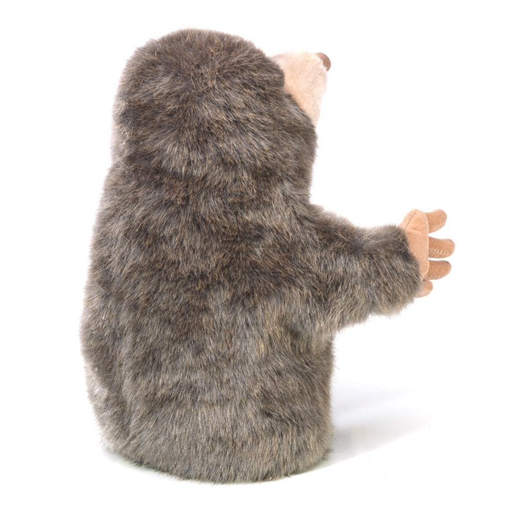 Folkmanis Little Mole Puppet back