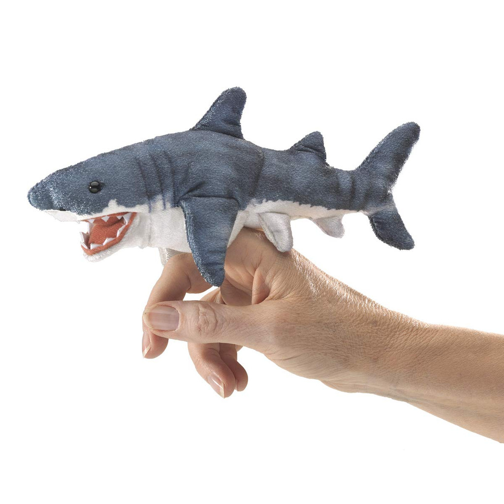 Folkmanis Mini Shark Finger Puppet