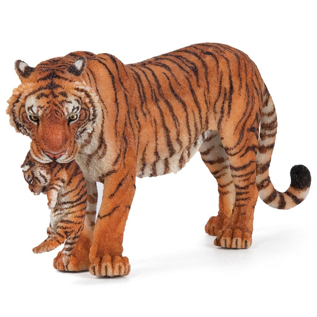 Papo Tigress with Cub