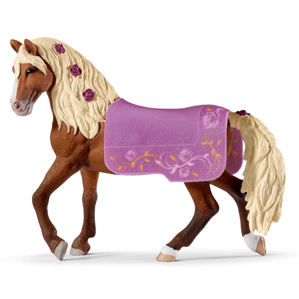 Schleich Paso Fino Stallion Show Horse with blanket