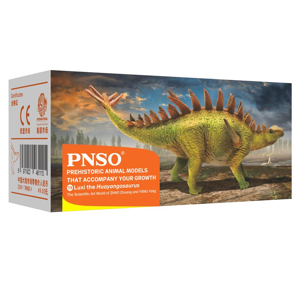 PNSO Luxi the Huayangosaurus packaging