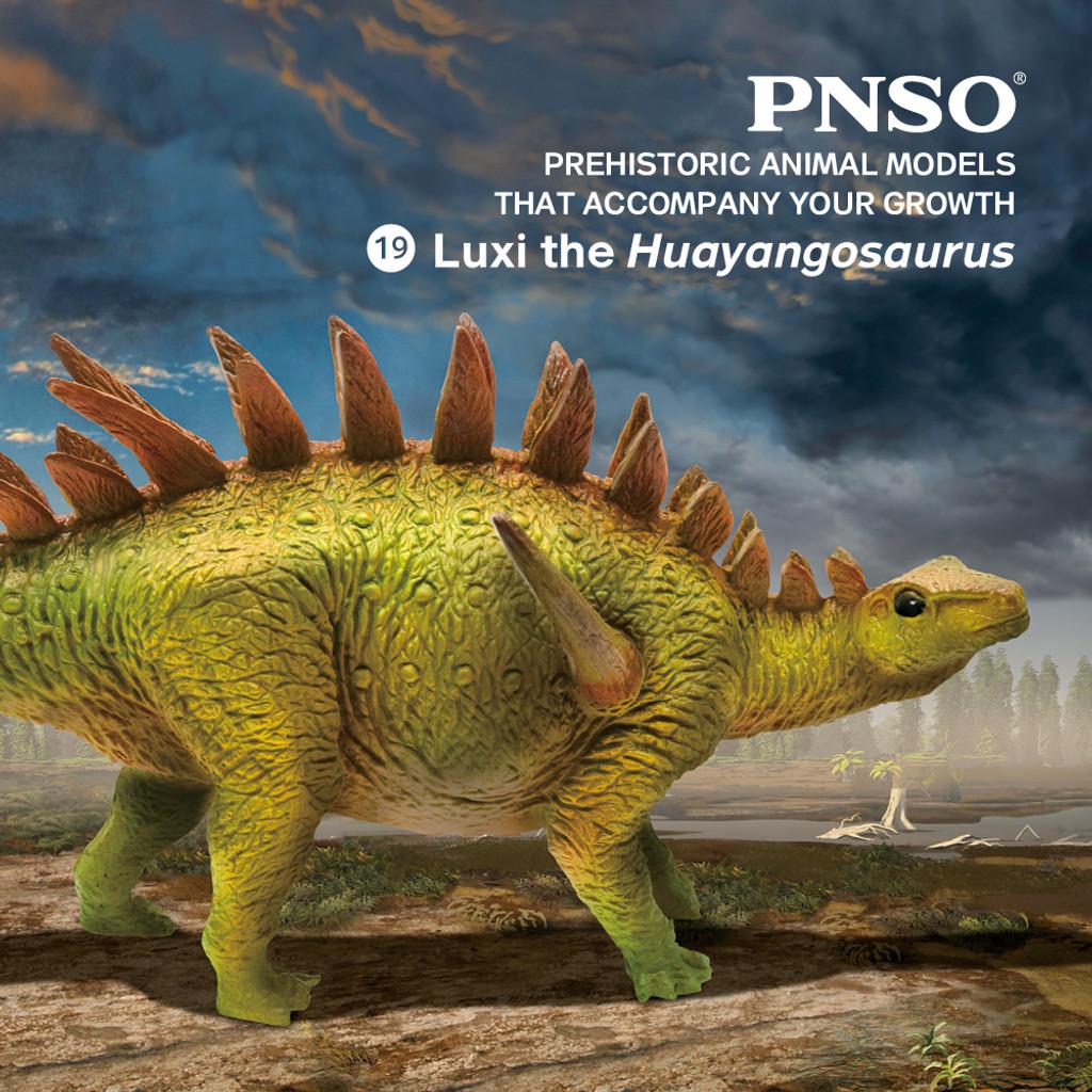 PNSO Luxi the Huayangosaurus lifestyle