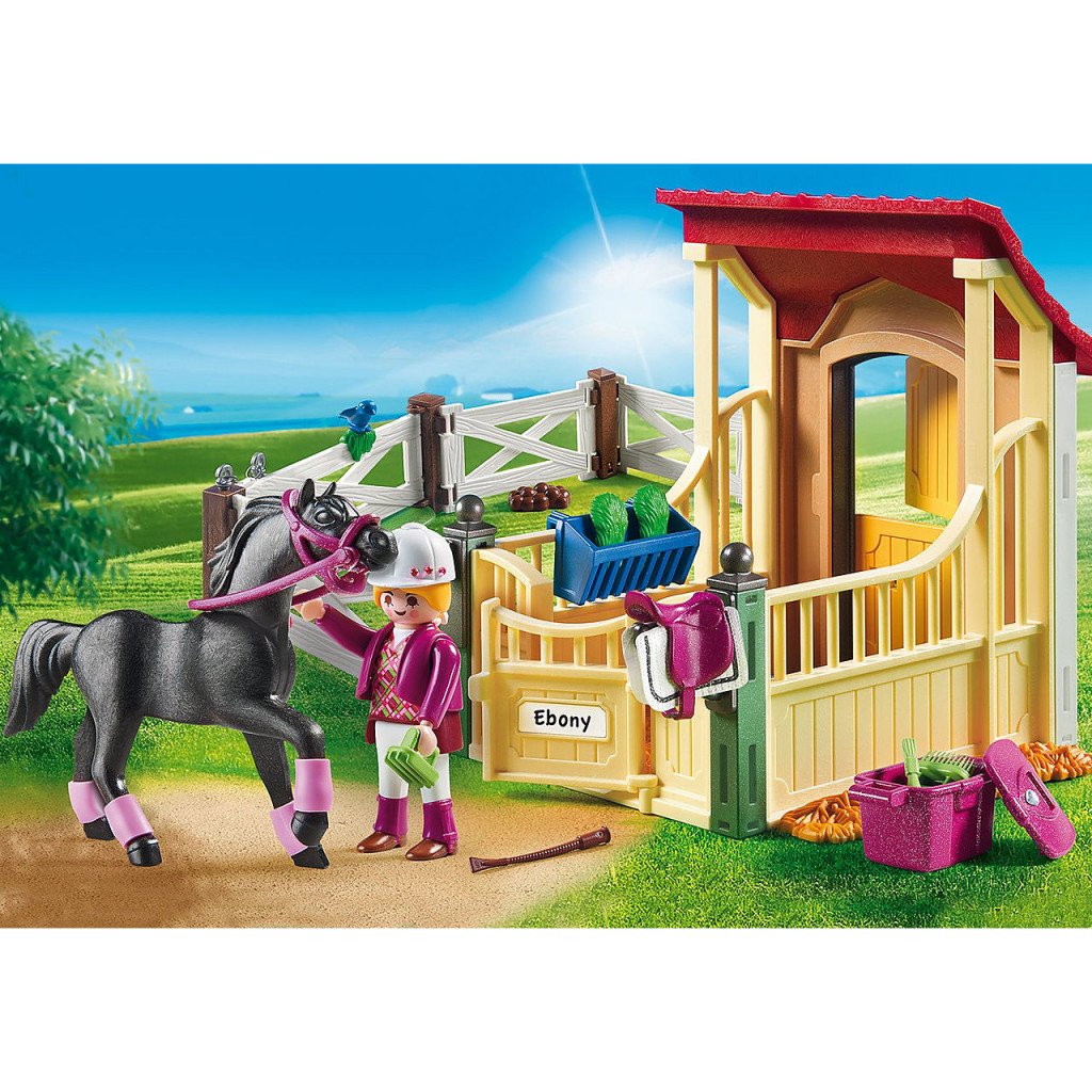 Playmobil Horse Stable with Arabian Horse lifestyle