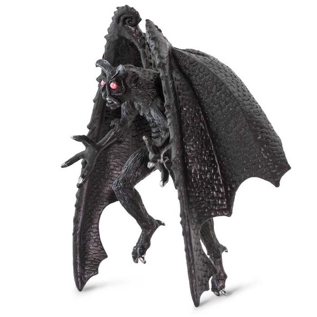 Safari Ltd Mothman figurine side angle