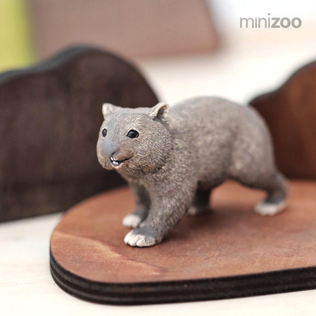 Schleich Common Wombat lifestyle