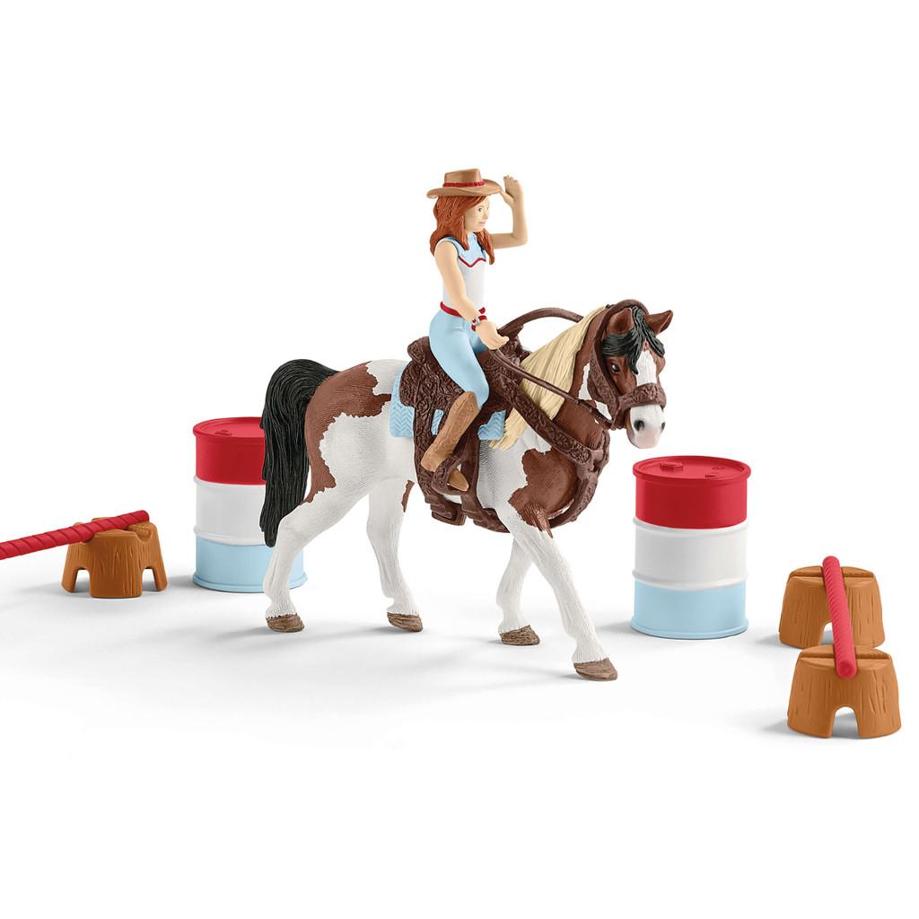 Schleich Horse Club Hannah's Western Riding Set 42441