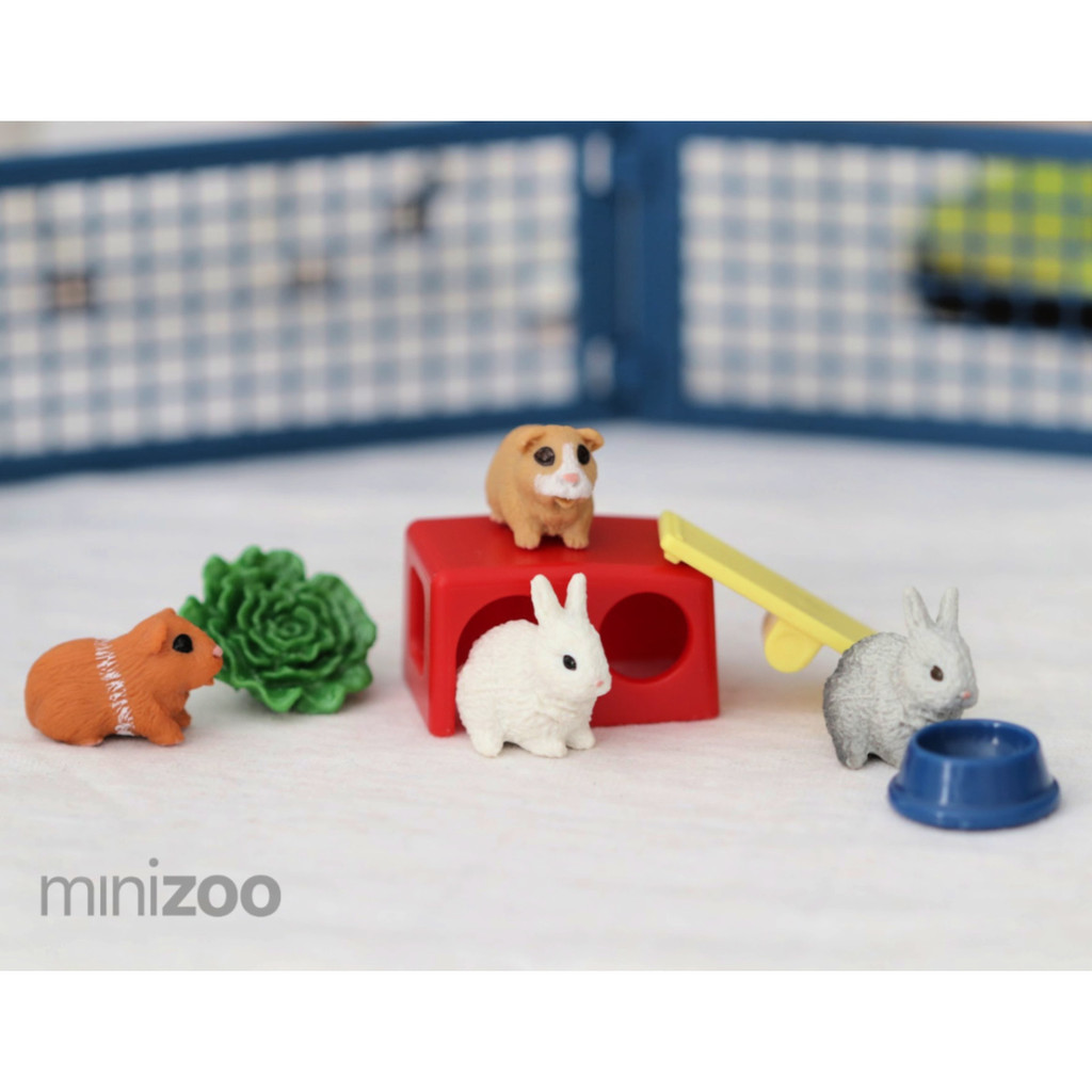 Schleich Home For Rabbits And Guinea Pigs lifestyle