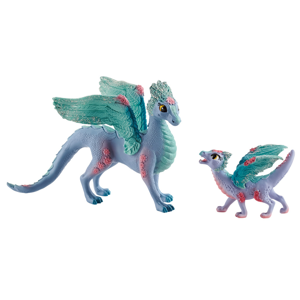 Schleich Flower Dragon With Child