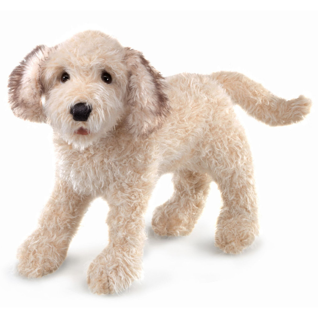 Folkmanis Labradoodle Puppy Puppet