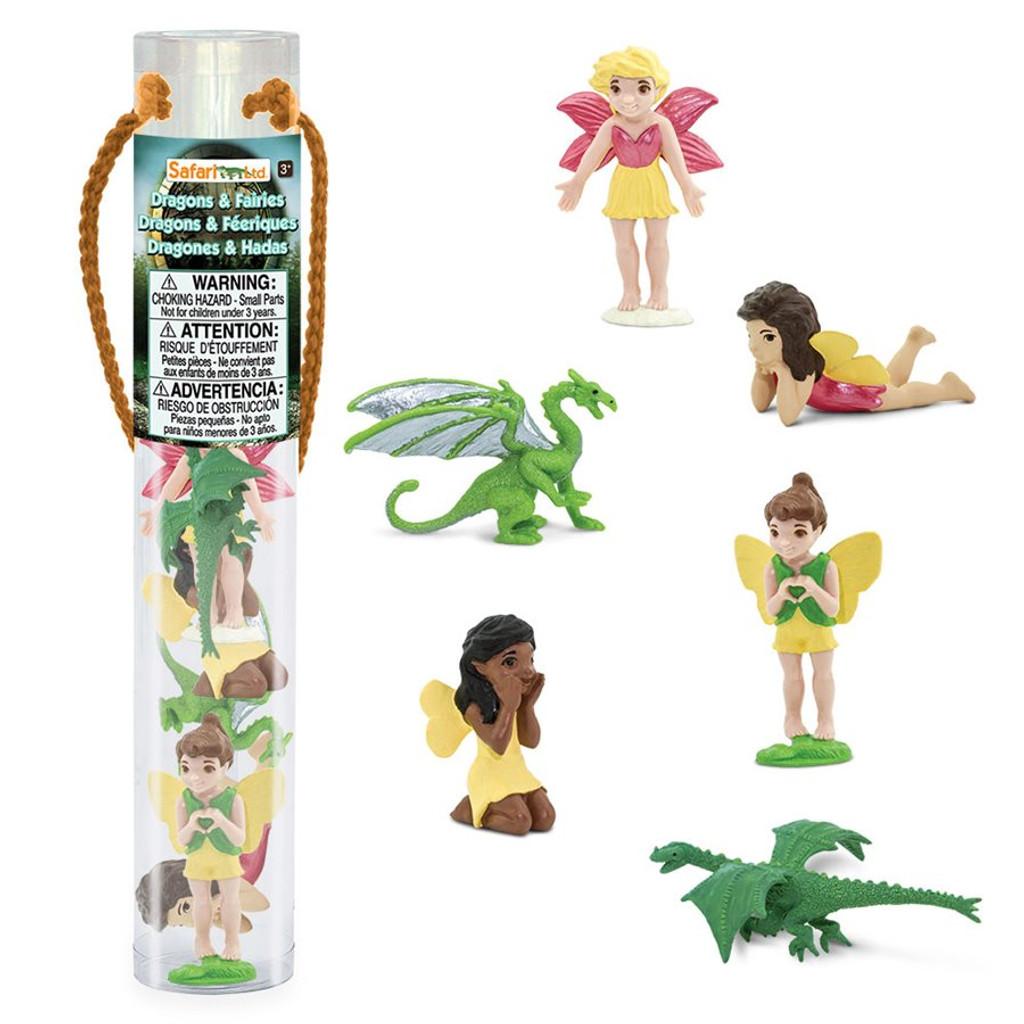 Safari Ltd Fairies and Dragons Toob