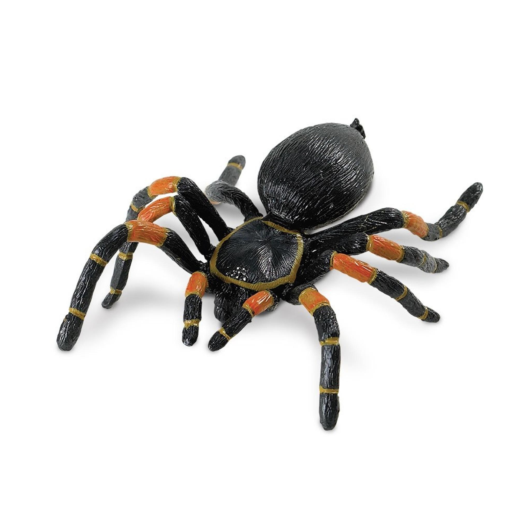 Tarantula Stuffed Animal, Safari Ltd Orange Kneed Tarantula 542006 Incredible Creatures