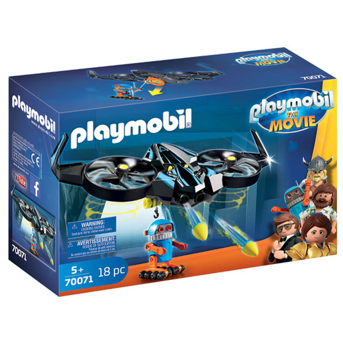 Playmobil: The Movie Robotitron with Drone