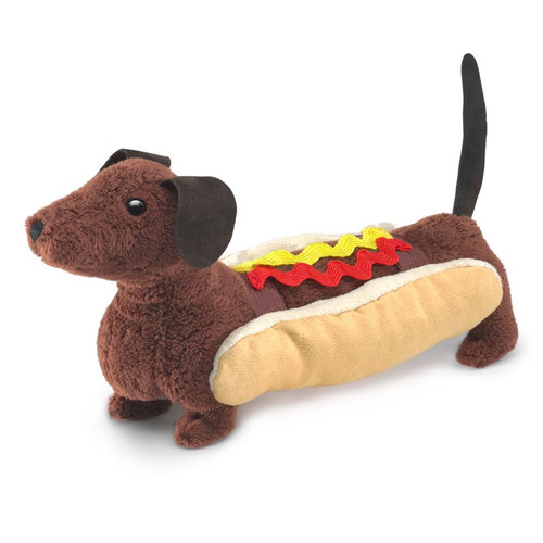 Folkmanis Hot Dog Finger Puppet