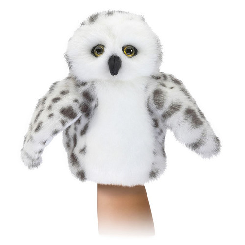 Folkmanis Little Snowy Owl Puppet