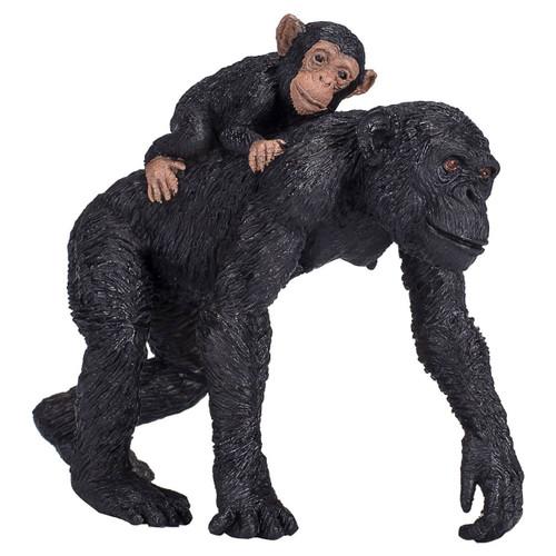 Mojo Chimpanzee and Baby