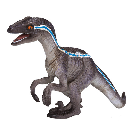 Mojo Velociraptor Crouching front side view