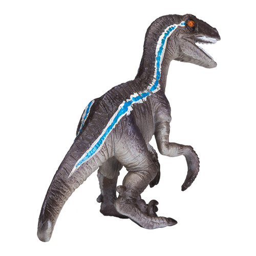 Mojo Velociraptor Crouching back side view