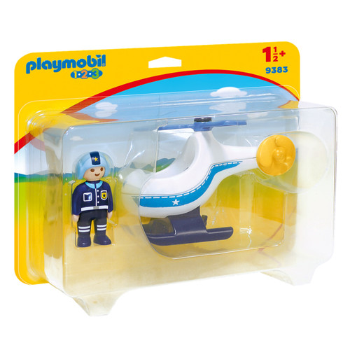 Playmobil Police Copter packaging