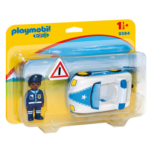 Playmobil Police Car packaging
