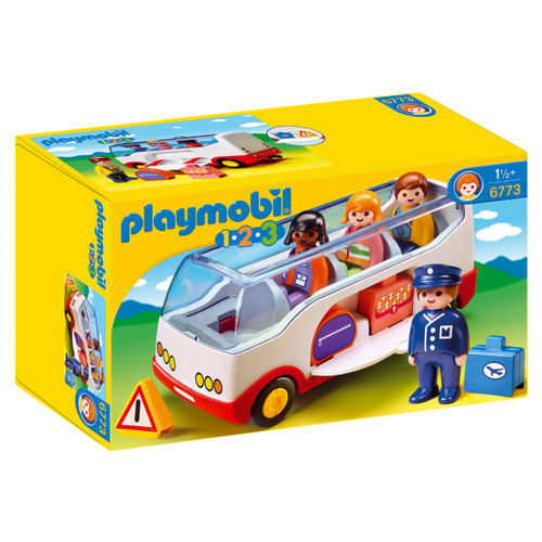 Playmobil Airport Shuttle Bus packaging